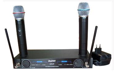 1.5 Mikrofon bezprzewodowy profesjonalny, podwójny, LS87