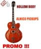 9.9.2 GITARA ELEKTROAKUSTYK HOLLOW BODY, ALNICO PICKUPS