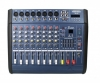 1.4b Powermikser VK 12-kan. 2x100W, MP3, USB, SD, Echo